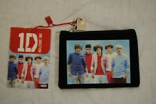 ONE DIRECTION PHOTO LOVE HEART ZIP TOP PURSE NEW OFFICIAL ZAYN HARRY LIAM NIALL