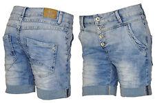 Lexxury Boyfriend Shorts Bermuda Jeansshorts Damenjeans Hose Chino Jeans XL 42