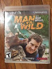 Man vs. Wild With Bear Grylls (Sony PlayStation 3, 2011) NO MANUAL