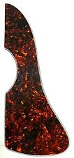Martin Style Folk or Archtop PIckguard Beveled 4 Ply Tortoise, Ships Free in USA
