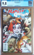 HARLEY QUINN #2 Cover A (2014 series) - Connor Cover - CGC 9.8