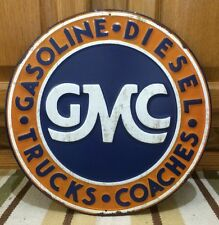 GMC Parts Trucks Diesel Gasoline Chevy Home Decor Man Cave Repair Mobil Gas