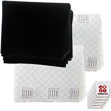 Filter Filters x 3 for HYGENA COOKE & LEWIS Recirculating Cooker Hood Vent + F