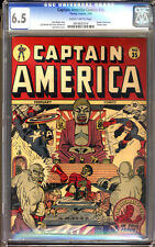 Captain America Comics #35 CGC 6.5 FN+ Universal CGC #0916931014