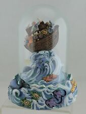Franklin Mint Hand painted Noah's Ark Domes by Bill Bell Limited Edition