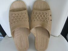 Men's Size Medium (7-8) Shower Sandals (durable waterproof material)