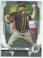 Adrian Morejon San Diego Padres 2020 Bowman Sterling Rookie Card