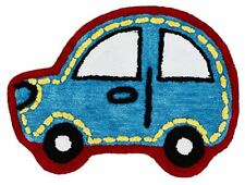 Catherine Lansfield Car – Tappeto per Bambini poliestere Blu 75 x 0.5 x