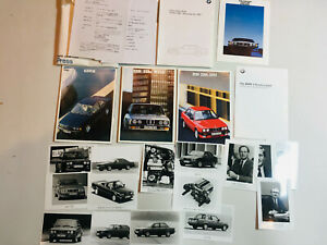 SUPER RARE 1987 BMW Factory Tokyo Motor Show MEDIA PRESS KIT 3 5 6 SERIES 318