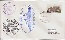 GERMANY 1979 PAQUEBOT ANTARCTIC AVIATION HELICOPTER FLIGHT F DAY COVER 0644FD