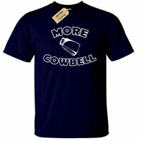 Mens More Cowbell Funny Saturday Night Tv Show T-Shirt Farmer