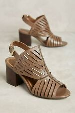 Nw Klub nico Rocca cutout shooties shoes by Anthroplogie size 36 MRSP 160.00