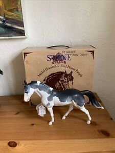 2004 Peter Stone Snowdrift Gray Pinto Tennessee Walking Horse Ehorse Series