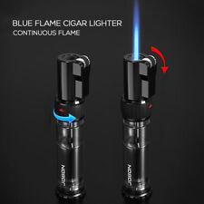Jobon Cigar Torch Lighter Refillable Butane Windproof Lighters with Gas Window