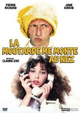 DVD *** LA MOUTARDE ME MONTE AU NEZ *** avec Pierre Richard, Jane Birkin, ...