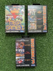 Sega Megadrive Mega Games 1 + 2 + 3