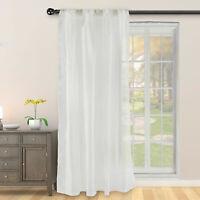 "2 Panels Solid Voile Sheer Window Shower Curtain 84"" Drape Living Room Bathroom"