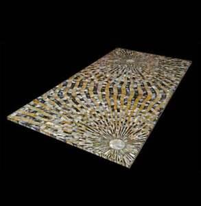 """48"""" x 24"""" Marble Center Table Top Pietra Dura inlay Handmade Home & Garden Decor"""
