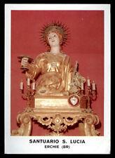 santino-holy card*S. LUCIA V.M.-ERCHIE