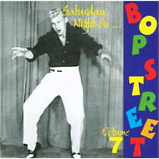 SATURDAY NIGHT ON BOP STREET Volume 7 CD - 1950s Rockabilly Rock 'n' Roll - NEW