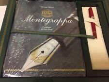 Montegrappa Historia LE Red/Sterling Silver 18K Fine Nib Fountain Pen