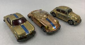 Faller Hit-Car (Germany) Lot of 3 Vintage Diecast Cars BMW VW Jaguar vintage as