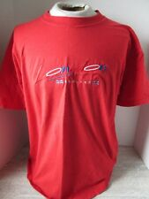 Vtg Red London England Embroidered T-Shirt Screen Stars Size Xl