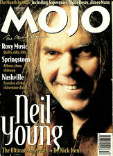 MOJO no. 25  December 1995 :  Neil Young / Roxy Music / Nashville