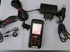 Sony Ericsson W 200i Walkman SIMFREI Accessoires Paquet d'occasion nº 233 x