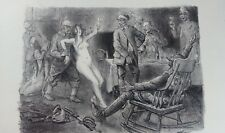 Gravure guerre de 1914-1918, WW1, par Jeanniot, numérotée 269/400.