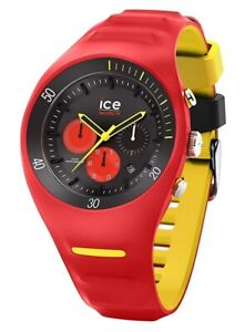 Ice-Watch ICE 014950 P. Leclercq Red Large Big Herren Chronograph Chrono rot K16