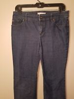 Chicos  Stretch Denim Jeans Bootcut Dark Wash Size 0 for Chico or US 6
