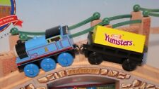 THOMAS & FRIENDS WOODEN RAILWAY ~ YUMSTERS CARGO CAR ~ NEW! 2002 PROMO