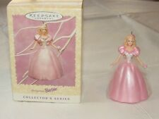 Hallmark Easter Keepsake Ornament pink Nos Barbie Collector's Series Christmas