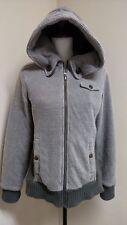 REI Co-op Rimrock Hooded Jacket  Women's Size M Medium Gray Green Cotton Poly
