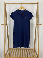Polo Ralph Lauren Women's Pony Short Sleeve Polo Dress Shirt Size XS
