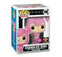 Funko POP Flocked Chandler Bing Friends Pink Easter Bunny Target Con Pre-Order