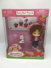 Strawberry Shortcake 2002 Doll w/ Custard Cat NIB Berry Best Friends