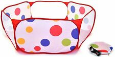 Foldable Baby Playpen Portable for Kids Indoors - Non-Toxic and Safe
