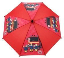Fireman Sam Umbrella (Red) - Jupiter Fire Engine