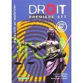 Laurence Audouin - Droit, 1ère, Bac STT - 2002 - Broché