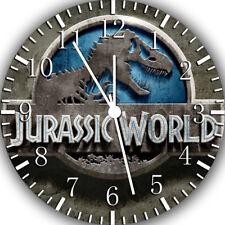 Jurassic World Frameless Borderless Wall Clock Nice For Gifts or Decor F157