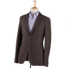 NWT $1295 BOGLIOLI Cocoa Brown Knit Cotton Sport Coat Slim 38 R (fits 36R)