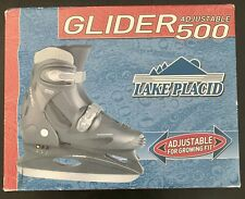 Lake Placid ~ Glider 500 ~ Adjustable ~ Youth Size 12-1 ~ New In Box