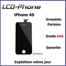 Ecran LCD + Vitre Tactile Sur Chassis - iPhone 4S Noir - Grade AAA