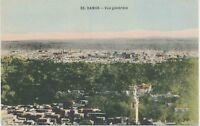 "SYRIA, ca. 1920 superb mint coloured pc ""DAMASCUS - General view."""