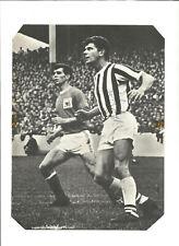 Football Autograph John Kaye Signed Magazine Picture & Bio Sheet F483