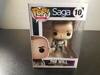 "NEW POP COMICS, ""SAGA"", THE WILL, #10, FOUR INCH FIGURE"
