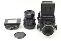 【Near Mint】Mamiya RB67 Pro S w/ 2 Lens Sekor C 90mm 180mm + 120 filmback Japan