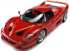 FERRARI  F 50 SUPER CAR RED NEW IN BOX 1:18